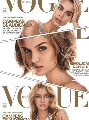 Vogue Brazil May 2017 : Sara, Josephine & Stella by Giampaolo Sgura