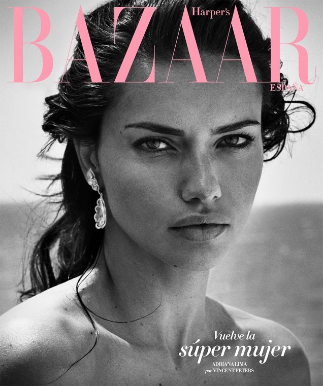 Harper's Bazaar España July 2017 : Adriana Lima by Vincent Peters