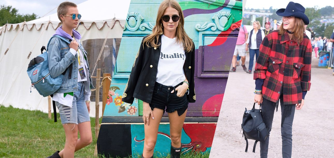 Wellies, Westernwear and Backpacks: All the Celeb Looks We Saw at Glastonbury This Weekend