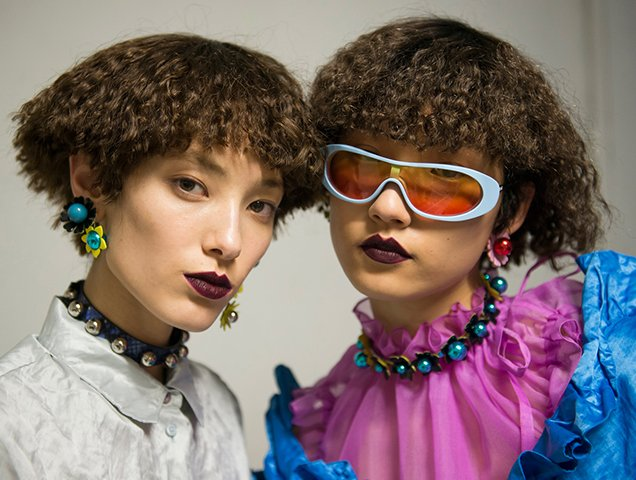 Kenzo's Spring 2018 Show Featured 100 Percent Asian Models (and Gravity-Defying Stunts)