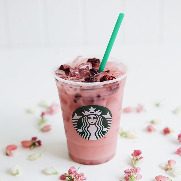 Starbucks' Violet Drink; Image: Starbucks