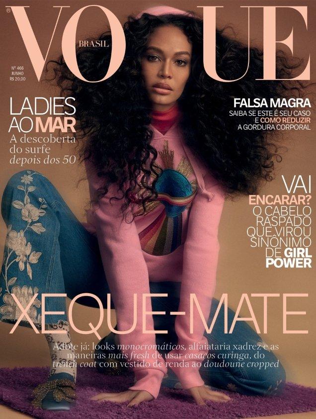 Vogue Brazil June 2017 : Joan Smalls by Zee Nunes