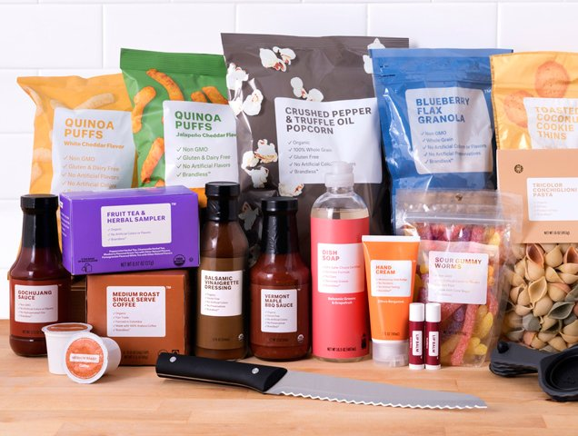 Brandless products cost just $3 each