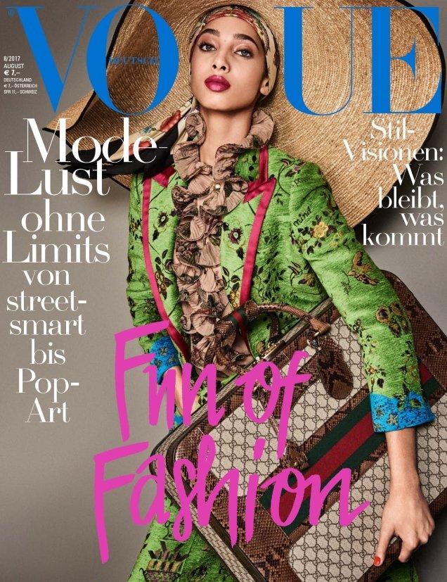Vogue Germany August 2017 : Yasmin, Anna & Birgit by Giampaolo Sgura