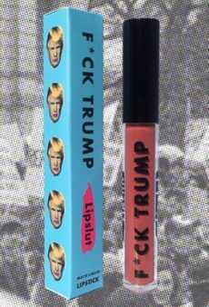 Lipslut's F*ck Trump Lipstick Is Donating All Proceeds to Charlottesville Victims and Anti-Hate Groups