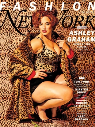 New York Magazine Fall Fashion 2017 : Ashley Graham by Maurizio Cattelan & Pierpaolo Ferrari