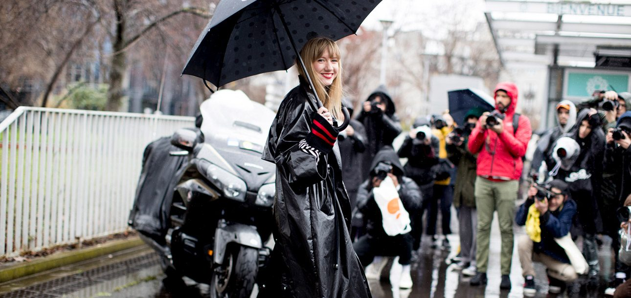 Trend Alert: Into Each Fashion Girl's Life Some Chic Rain Gear Must Fall