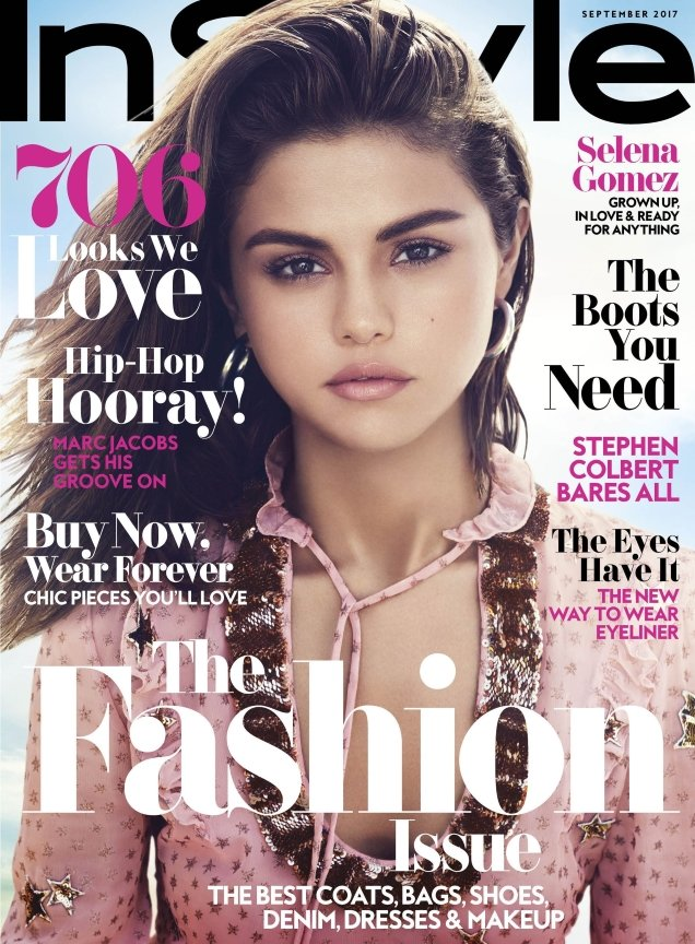 US InStyle September 2017 : Selena Gomez by Phil Poynter