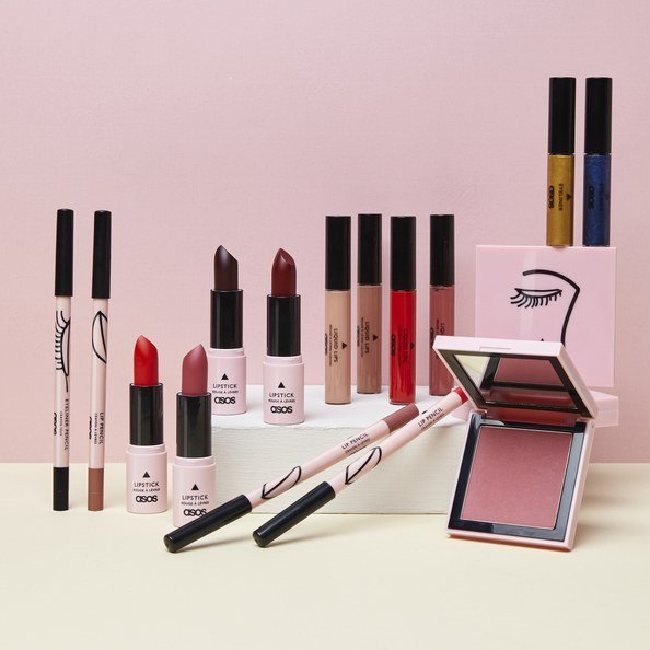 ASOS' house makeup line launches September 20, 2017.