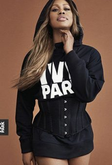 Laverne Cox Scores Her First Fashion Campaign, Starring in Ivy Park's Fall 2017 Ads
