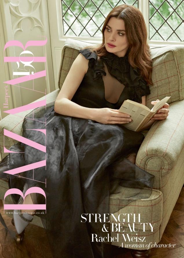 UK Harper's Bazaar October 2017 : Rachel Weisz by Agata Pospieszynska
