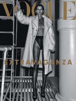 Vogue Ukraine October 2017 : Malgosia Bela by Chris Colls