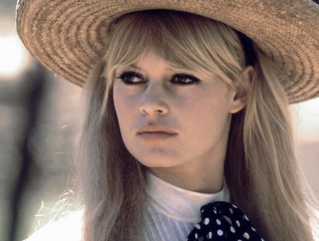Brigitte Bardot's curtain bangs are the pinnacle