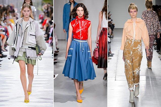 anorak trend at Valentino Spring 2018, Calvin Klein Spring 2018, A Détacher Spring 2018