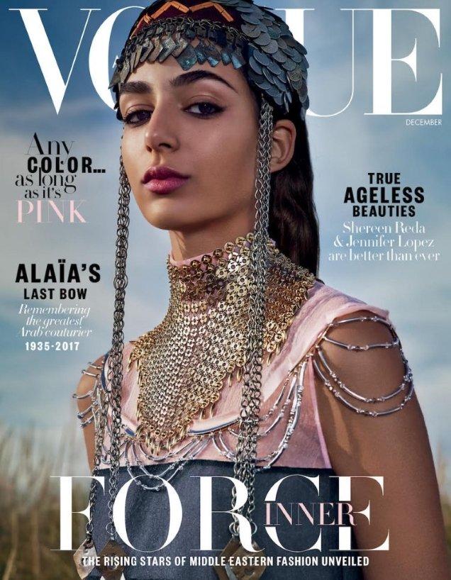 Vogue Arabia December 2017 : Nora Attal by Emma Summerton