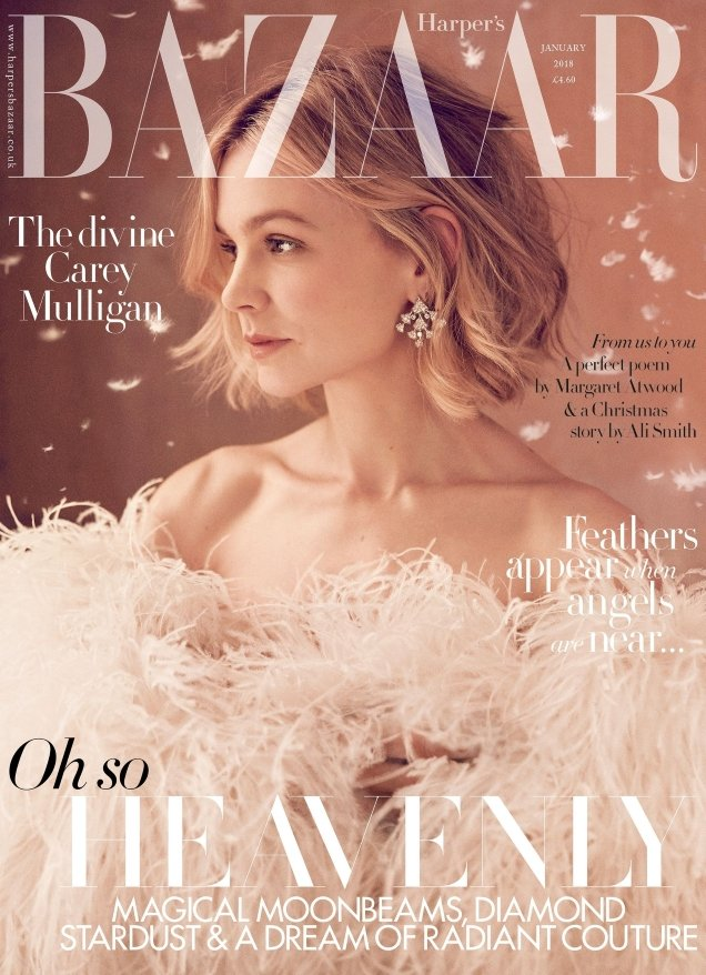 UK Harper's Bazaar January 2018 : Carey Mulligan by Richard Phibbs