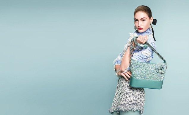 Chanel S/S 2018 : Grace Elizabeth & Luna Bijl by Karl Lagerfeld