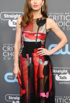 All the Colorful Red Carpet Looks From the 2018 Critics' Choice Awards