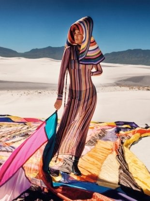 Missoni S/S 2018 : Kendall Jenner by Harley Weir