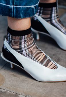 Why Your Socks Should Be Sheer in 2018