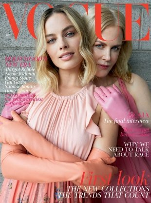 UK Vogue February 2018 : Margot Robbie & Nicole Kidman by Juergen Teller