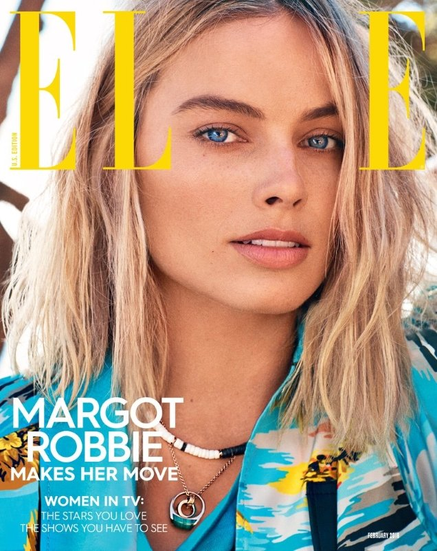 US Elle February 2018 : Margot Robbie by Alexi Lubomirski
