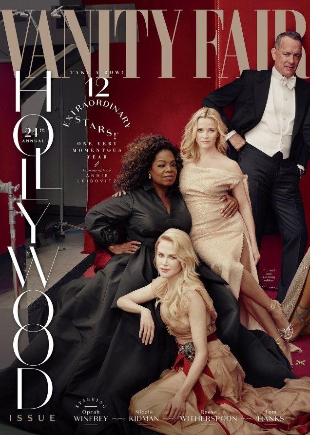 Vanity Fair 'The Hollywood Issue' 2018 by Annie Leilbovitz
