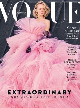 Vogue Australia January 2018 : Carey Mulligan by Emma Summerton