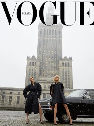 Vogue Poland March 2018 : Anja Rubik & Małgosia Bela by Juergen Teller