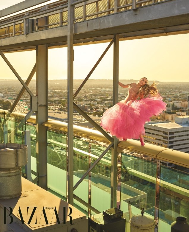 US Harper's Bazaar April 2018 : Jennifer Lopez by Mariano Vivanco