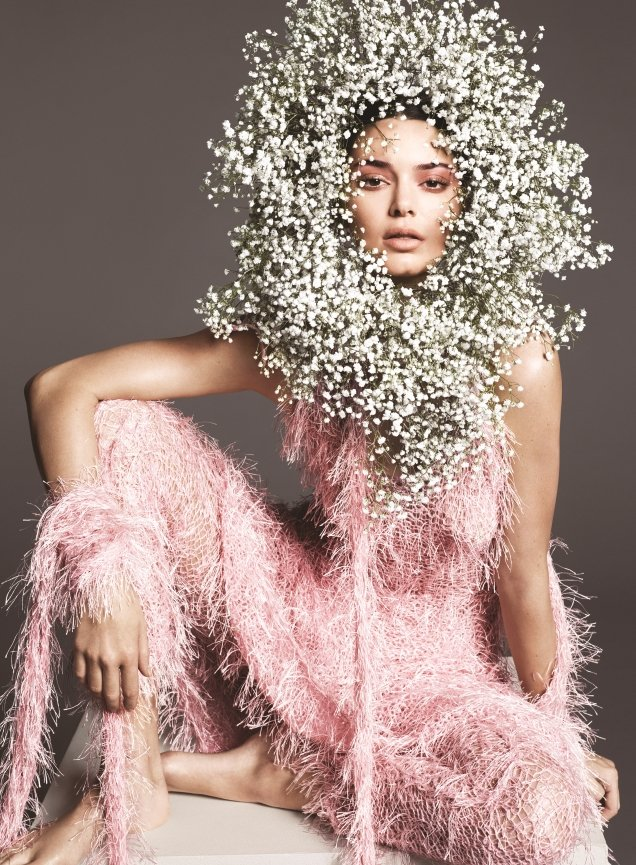US Vogue April 2018 : Kendall Jenner by Mert Alas & Marcus Piggott