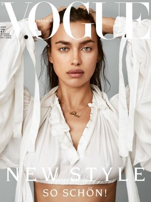 Vogue Germany April 2018 : Irina Shayk by Daniel Jackson