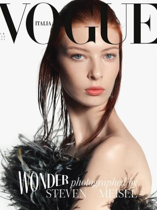 Vogue Italia March 2018 : Remington Williams by Steven Meisel