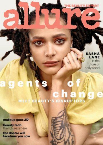 Allure Magazine May 2018 Sasha Lane Agents of Change