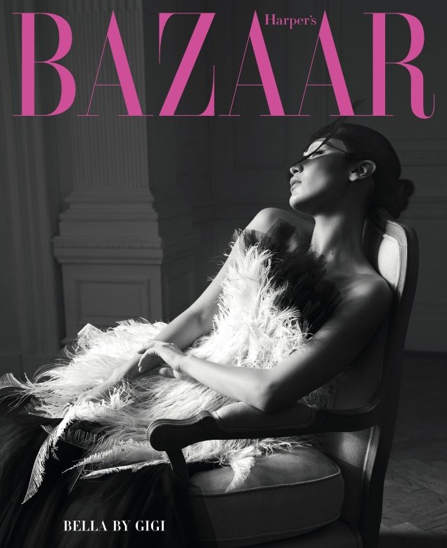 US Harper's Bazaar June/July 2018 : Bella Hadid by Solve Sunbsbo