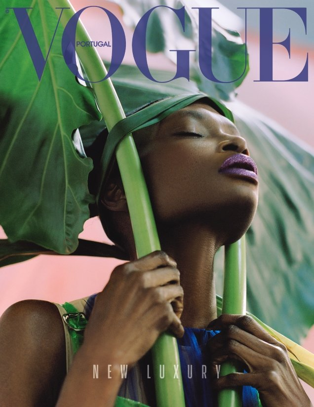 Vogue Portugal May 2018 : Debra Shaw by Dan Beleiu