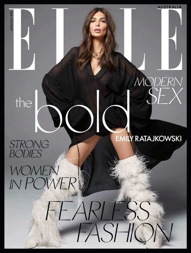 Elle Australia June/July 2018 : ‪Emily Ratajkowski by Kai Z Feng