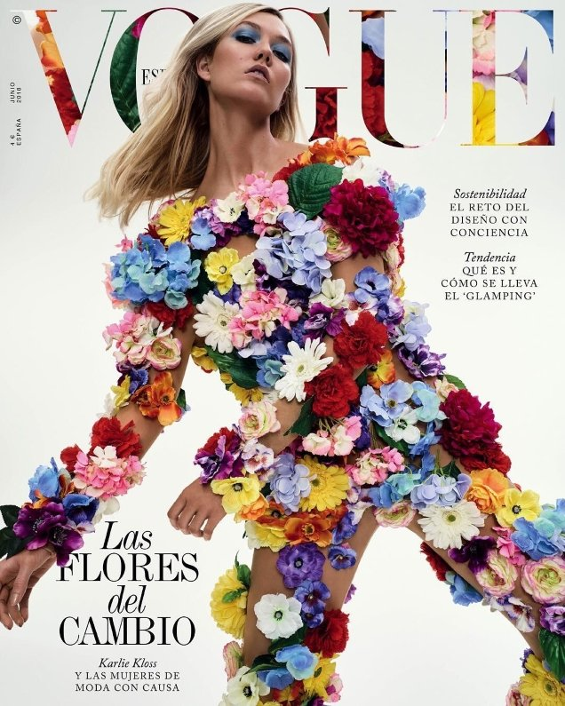 Vogue España June 2018 : Karlie Kloss by Emma Summerton