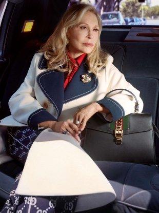 Gucci 'Sylvie' Handbags F/W 2018.19 : Faye Dunaway & SoKo by Petra Collins