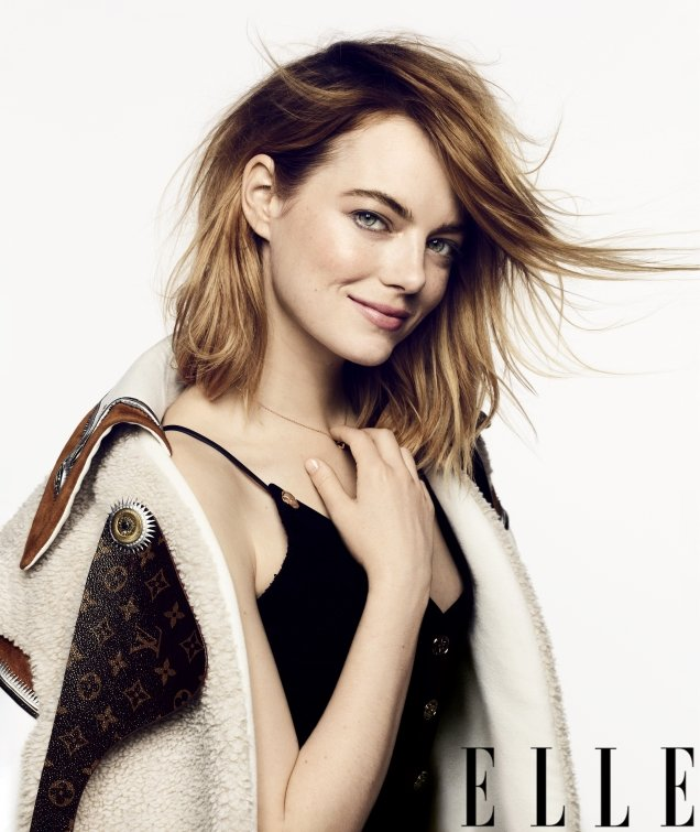 US Elle September 2018 : Emma Stone by Ben Hassett
