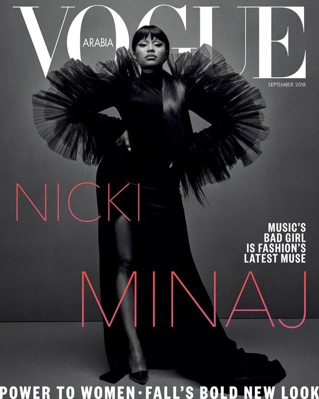Vogue Arabia September 2018 : Nicki Minaj by Emma Summerton