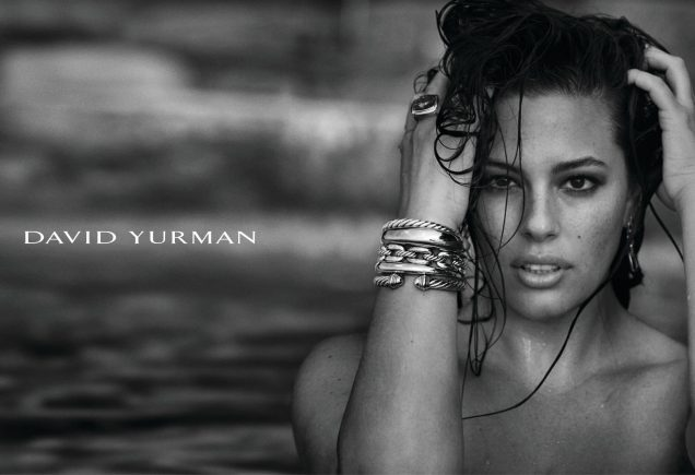 Ashley Graham for David Yurman.