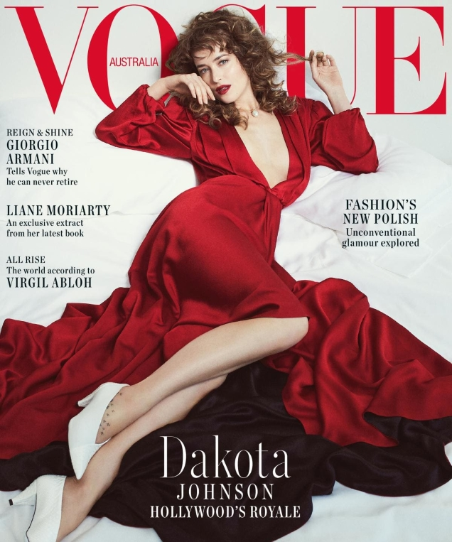 Vogue Australia October 2018 : Dakota Johnson by Emma Summerton