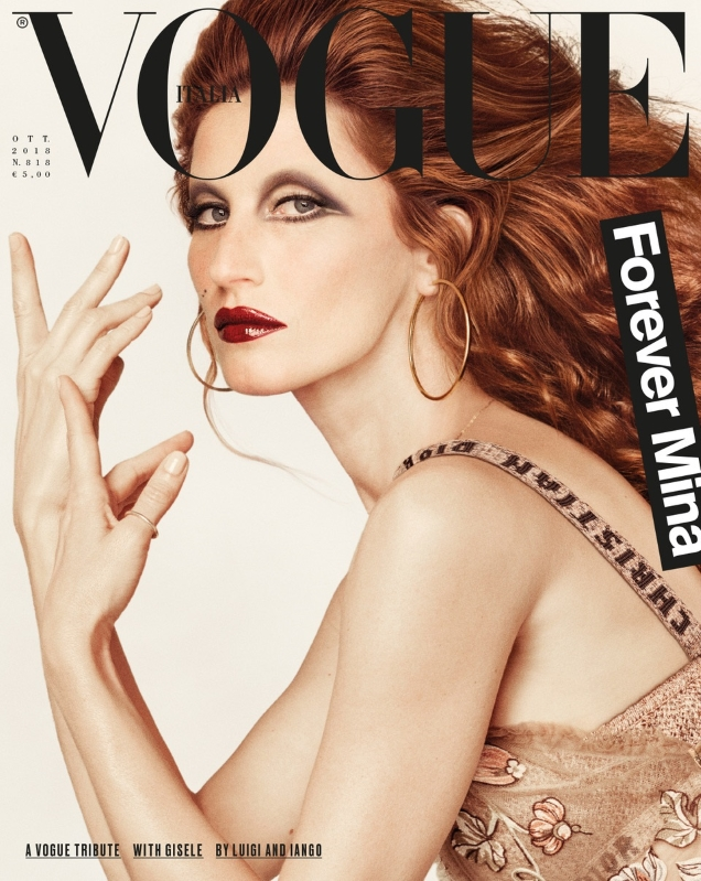 Vogue Italia October 2018 : Gisele Bündchen by Luigi & Iango