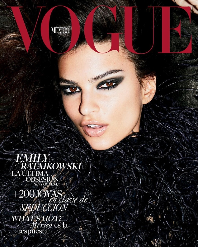 Vogue Mexico & Latin America October 2018 : Emily Ratajkowski by Carin Backoff