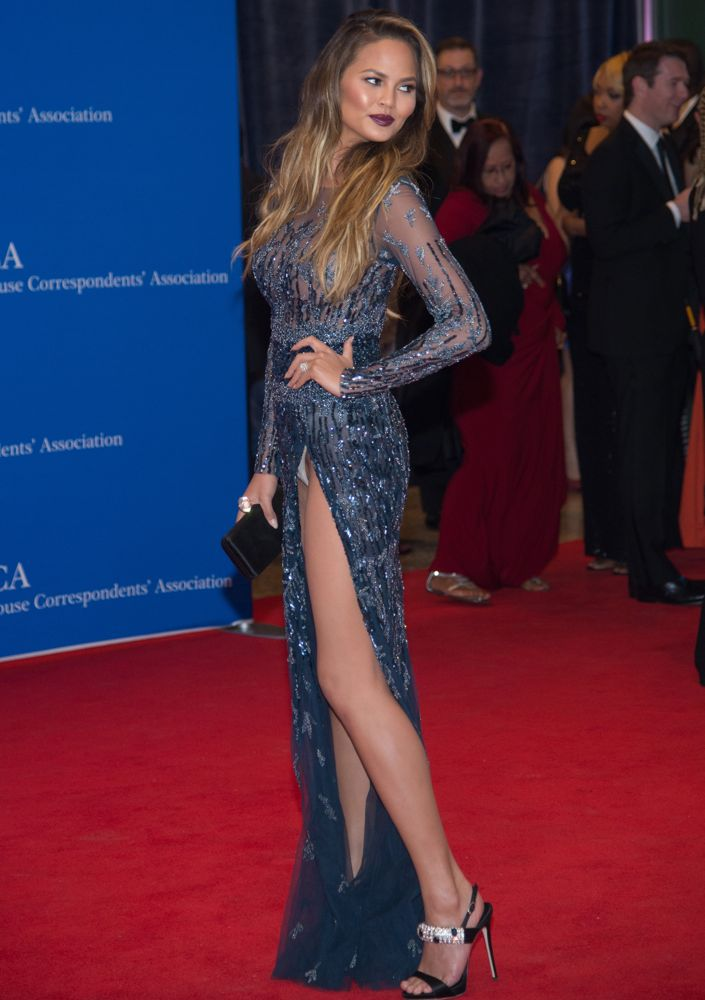 Chrissy Teigen at the 2015 White House Correspondents' Association Dinner