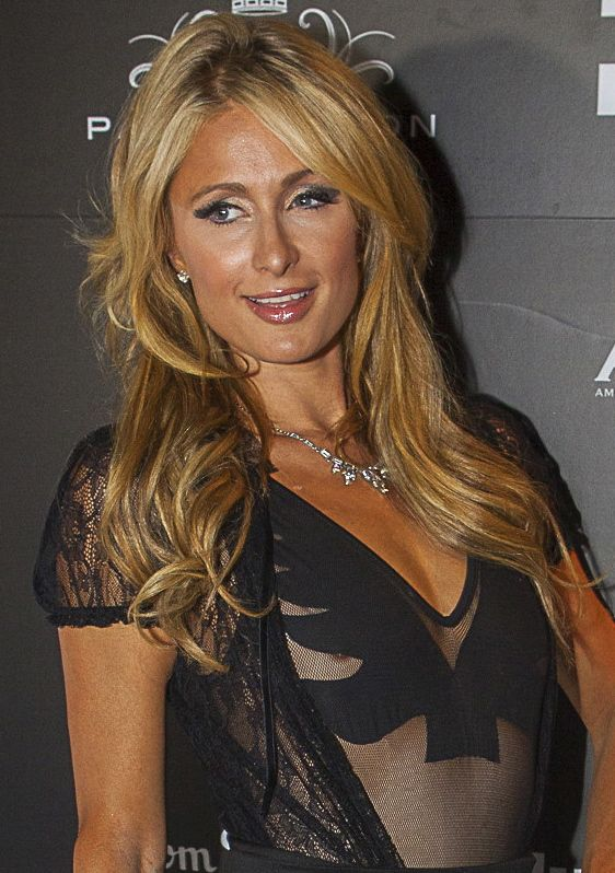 Paris Hilton at Milan's Just Cavalli Restaurant & Club