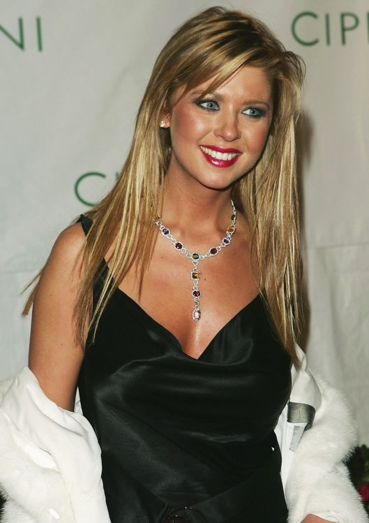Tara Reid at P. Diddy's 35th Birthday Party
