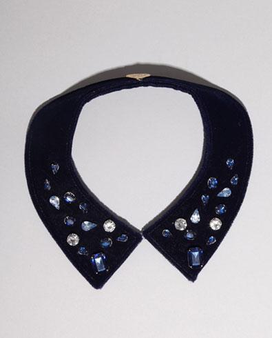 Gemma Lister Blue Diamond Collar