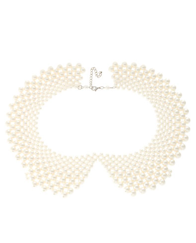 Pieces Pearl Bead Collar